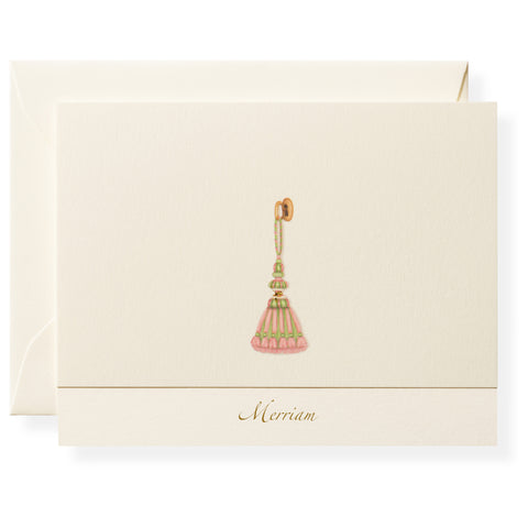 Tassel Personalized Note Cards