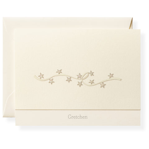 Twinkle Personalized Note Cards