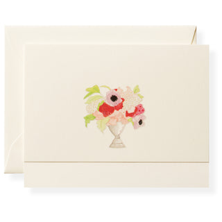 Vase of Flowers Individual Note Card