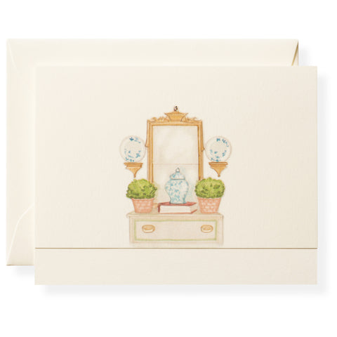 Vignette Individual Note Card