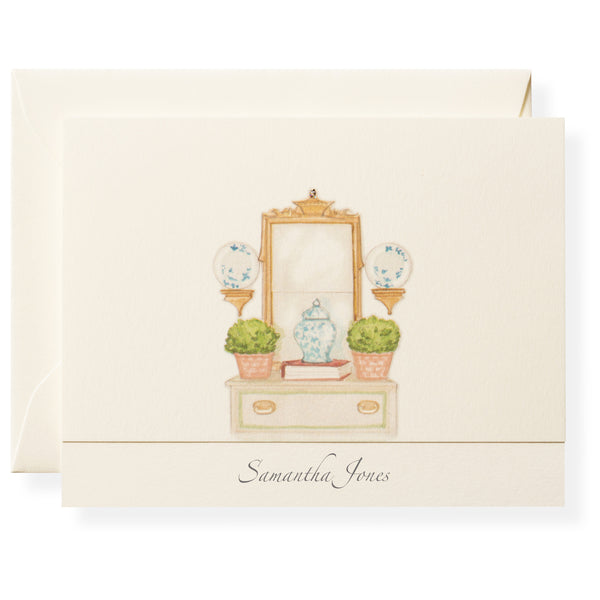 Vignette Personalized Note Cards-1