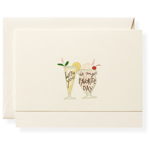 With You Individual Note Card