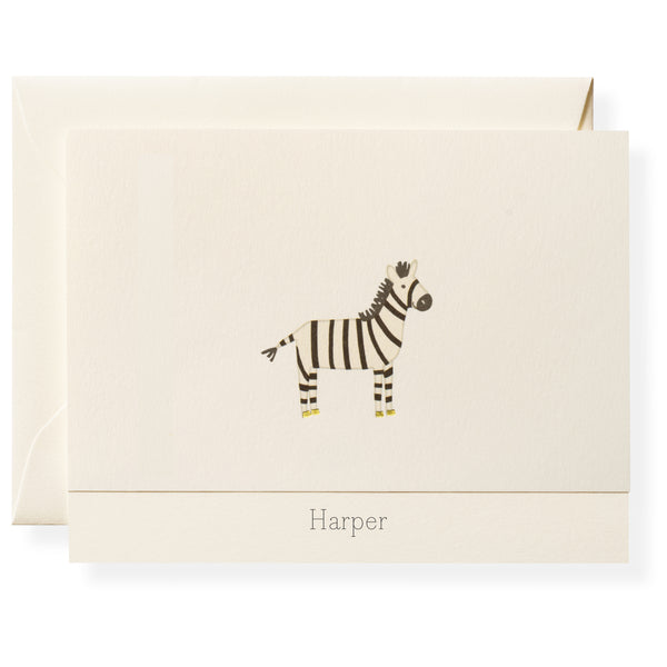 Zander Personalized Note Cards-1