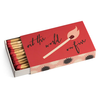 Set the World on Fire Matchbox
