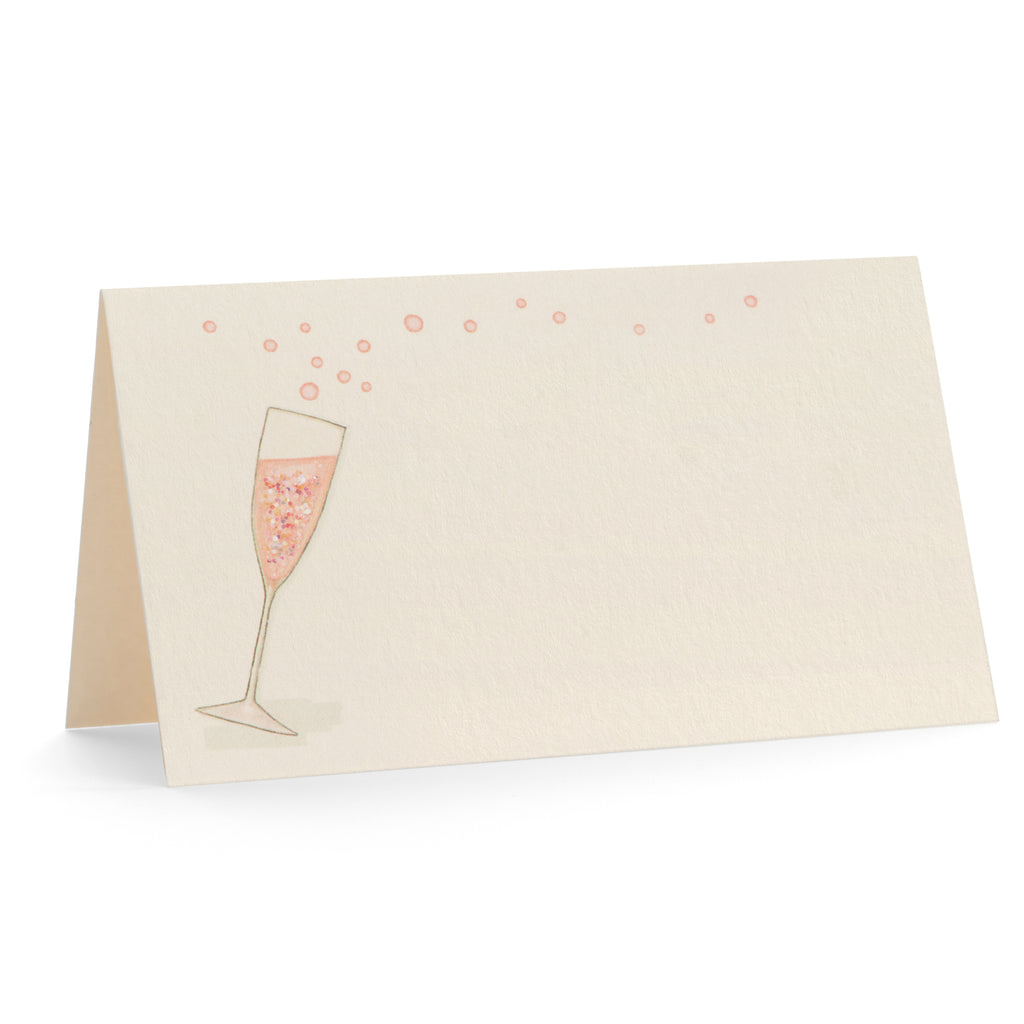 Champagne Toast Place Cards