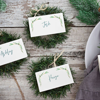 Greens Place Cards
