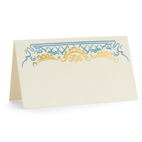 Nicole in French Blue Place Cards