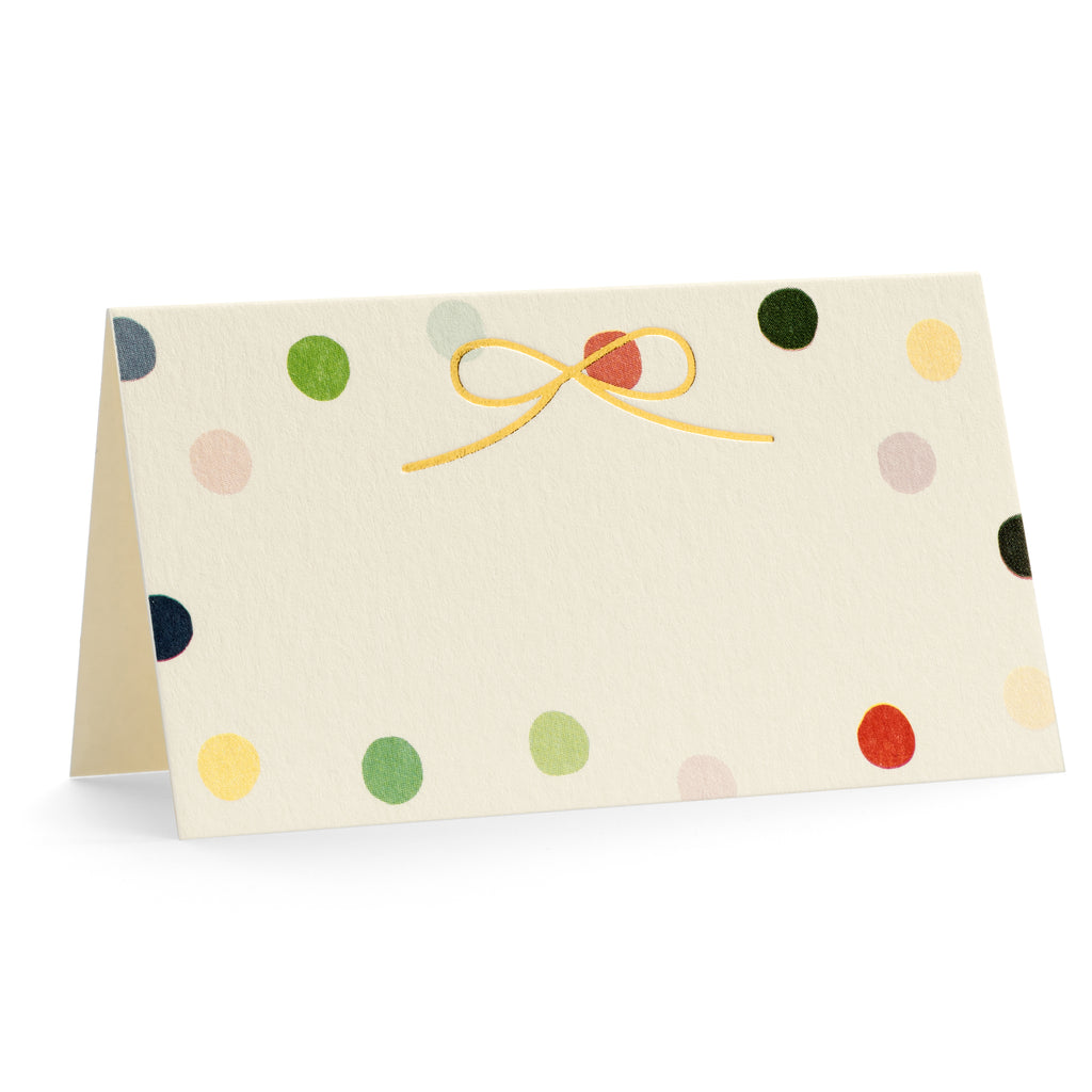 Polka Place Card