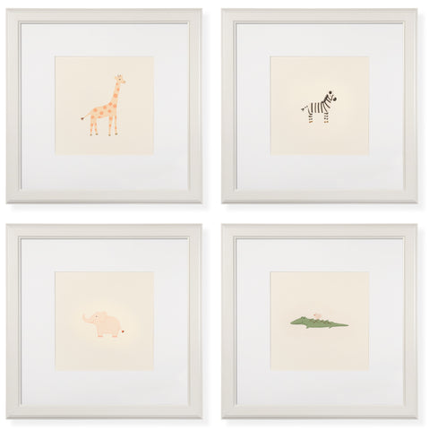 Set of 4 Wild Things Art Prints