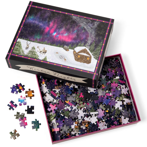 Winter Nights Puzzle