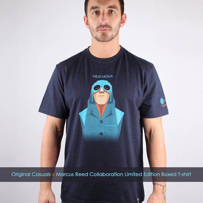 Original Casuals x Marcus Reed Collaboration Limited Edition Boxed T-Shirt
