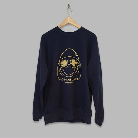 Gold 'Acid Casuals' Sweatshirt