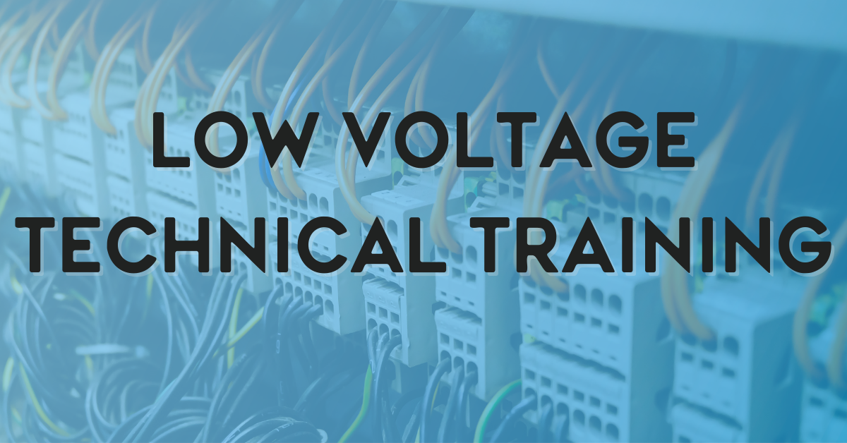 Low Voltage Technical Training