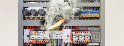 Troubleshooting electrical faults in a manufacturing environment