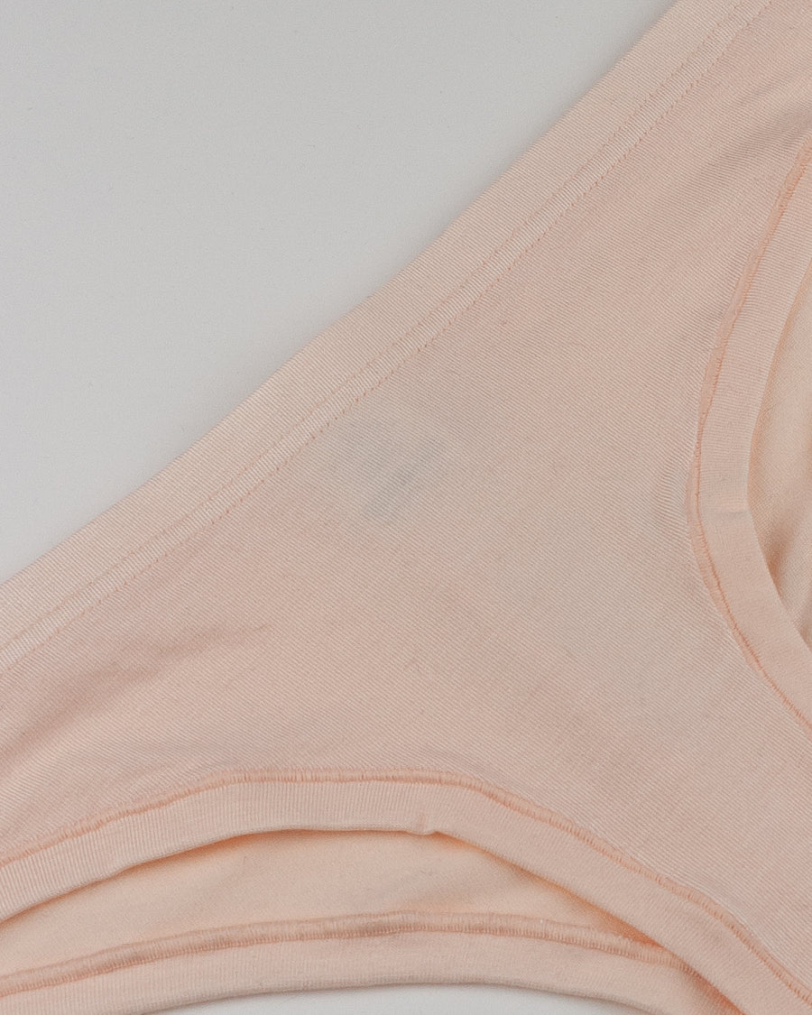 Woron blush modal stretch jersey cheeky hipster