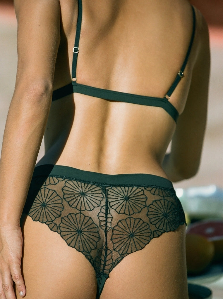laced bikini brief