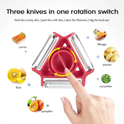 3 in 1 Vegetable Peeler (LAST 2 DAYS PROMOTION - 50% OFF)
