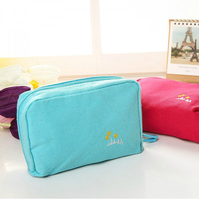 Large-capacity Travel Organizer Portable Wash Makeup Cosmetic Bag