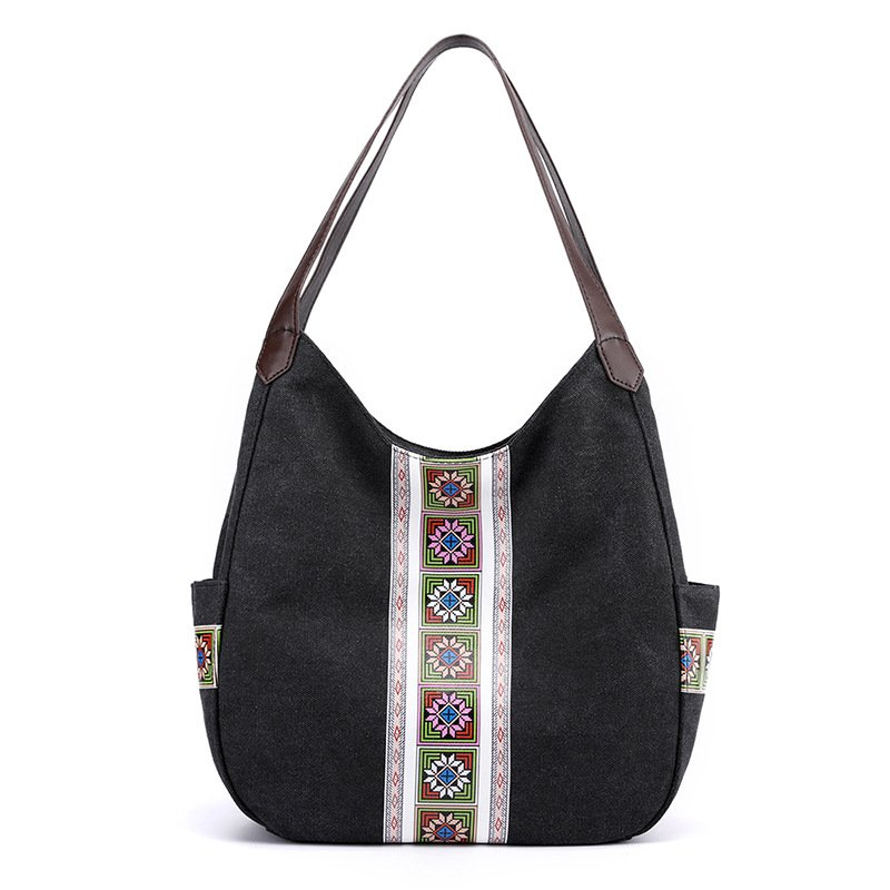 Women's Retro Canvas Shoulder Bags
