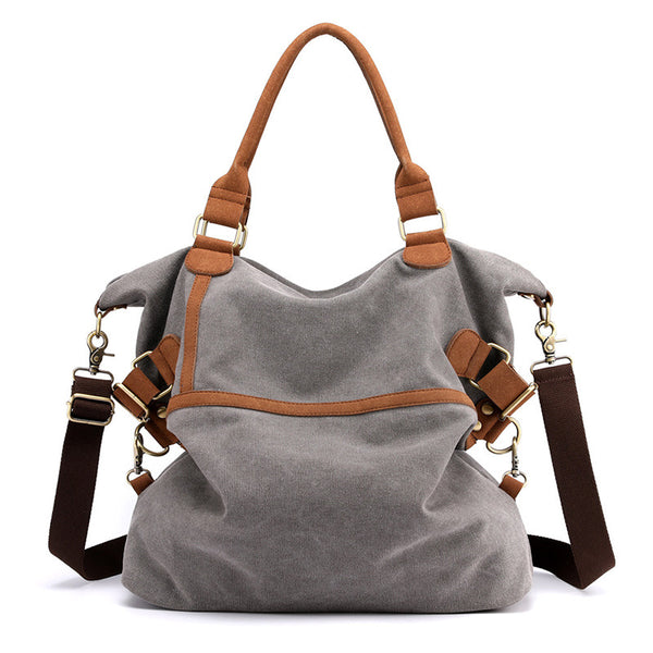 Women's Casual Canvas Shoulder Bags