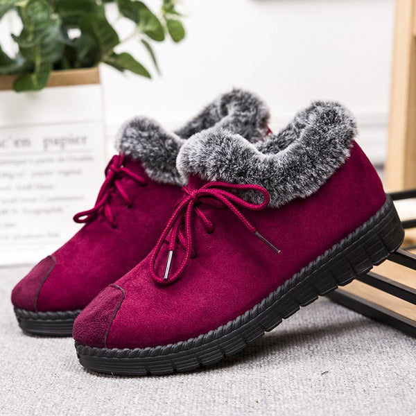 Stylish And Comfortable Plus Velvet Boots