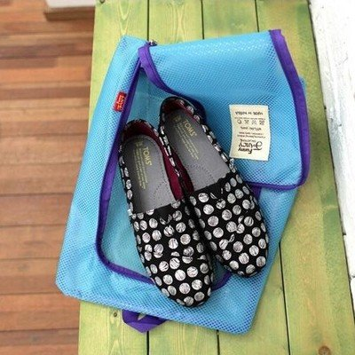 Portable Travel Waterproof Mesh Shoe Bag Travel Bag