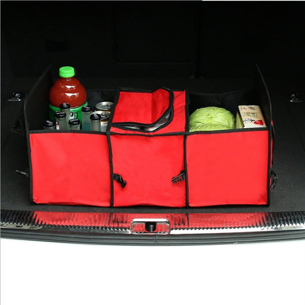 Oxford Cloth Storage Bag with Waterproof Insulation Function for Car Outdoor Activities