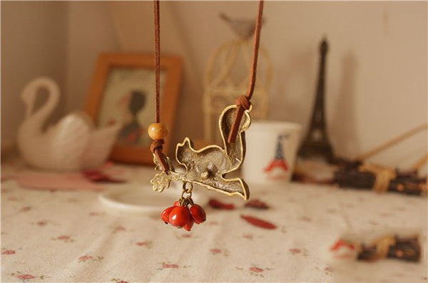 As Picture Alloy Sweet Necklaces