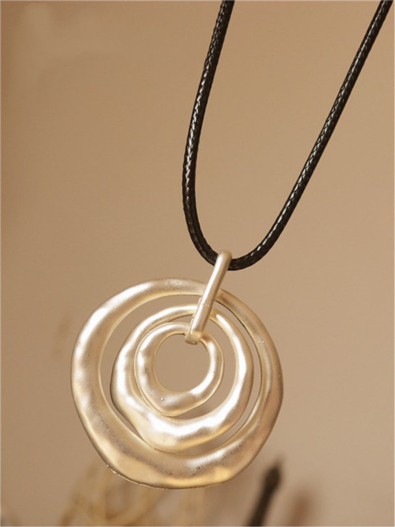 White Alloy Casual Women All Season Necklace