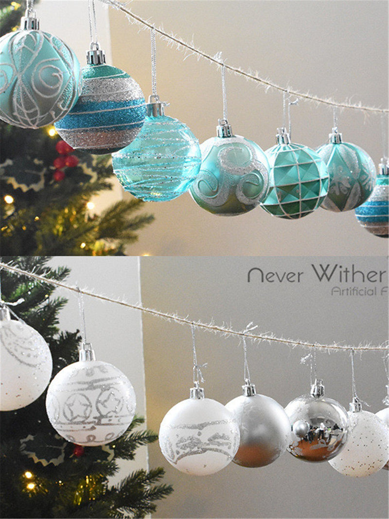 Christmas ball decoration (24 packs)
