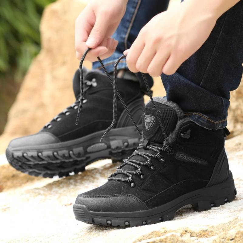 Women's Outdoor Trekking Hiking Boots Anti-skid Boots Shoes Mountain Climbing Sports Winter Shoes