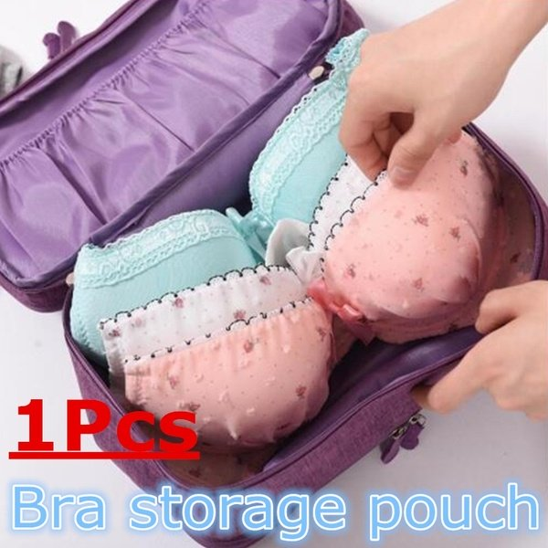 7Pcs Home Living Bags in Bag Waterproof Travel Luggage Organizer Packing Storage Bag 5 Colours