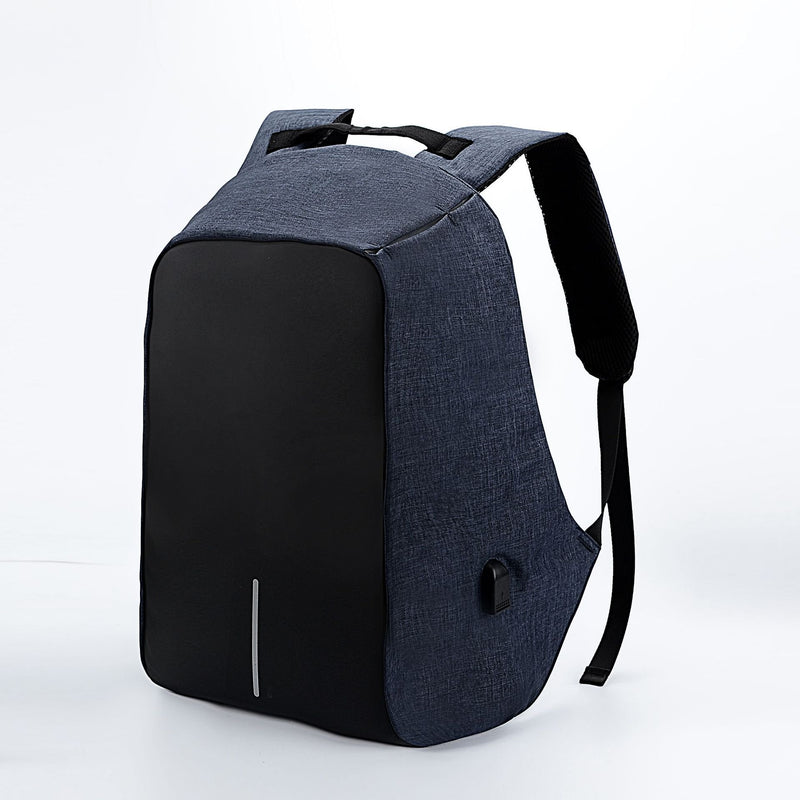 Multi-functional Big capacity USB charger Zipper Oxford Backpack
