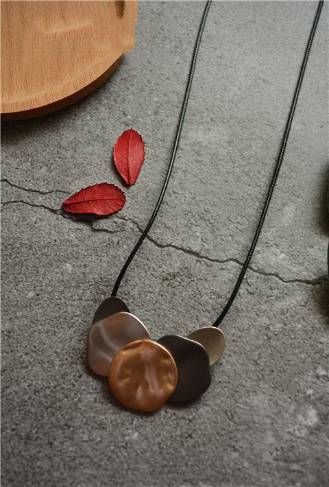 As Picture Alloy Casual Necklaces