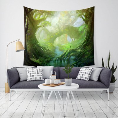 Fantasy Forest Tapestry Wall Hanging Tapestries Home Decor