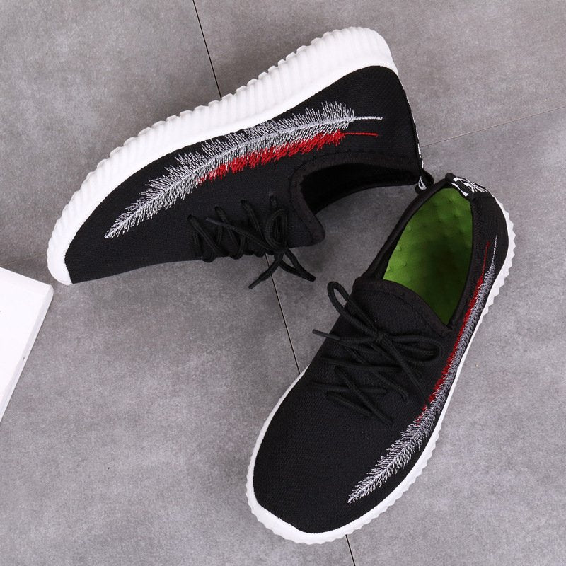 Outdoor Sports Embroidery Casual Shoes