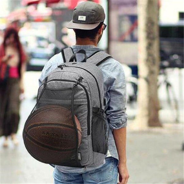 Rain-Resistant Charging Shoulders Bag