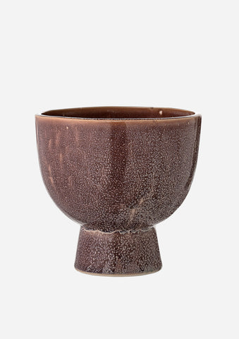 Brown / Purple Tone Flower / Plant Pot