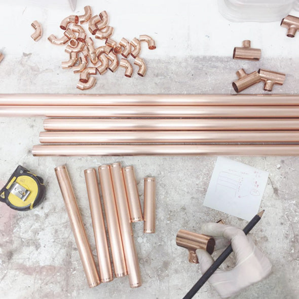 Bespoke copper interiors