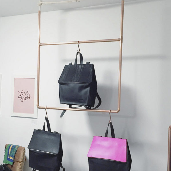 I for Detail Store copper rails