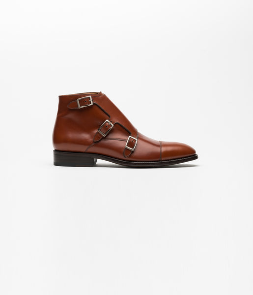 Monkstrap Boots Brown Three