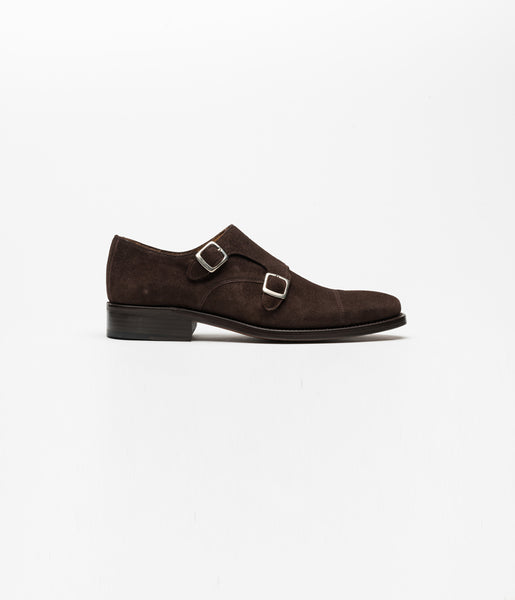Monkstrap Suede Brown