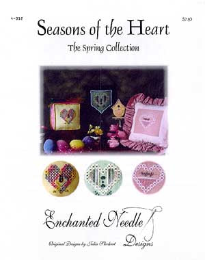 Enchanted Needle Designs, Spring Collection-Seasons Of The Heart, Needles and Things