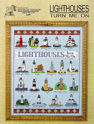 Treetrunk Designs, Lighthouses Turn Me On, Needles and Things