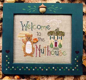 Waxing Moon Designs, Welcome To The Nuthouse, Needles and Things