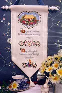 Lorri Birmingham Designs, Cottage Blessing, A, Needles and Things
