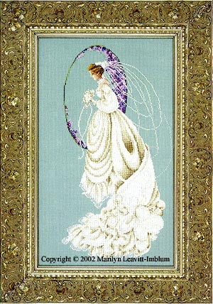 Lavender & Lace, Spring Bride, Needles and Things