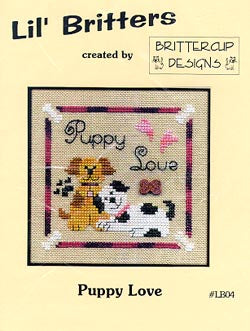 Brittercup Designs, Puppy Love, Needles and Things
