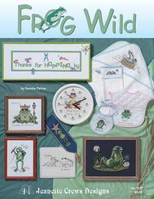 Jeanette Crews Designs, Frog Wild, Needles and Things