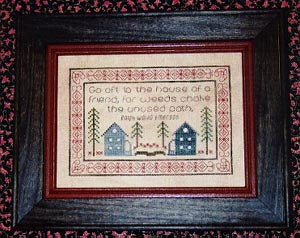 Joy Of The Needle, House Sampler 3, Needles and Things